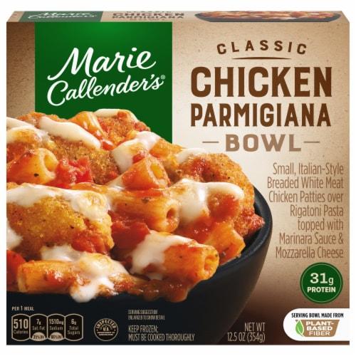 Marie Callender's Classic Chicken Parmigiana Bowl Single Serve Frozen Meal Perspective: front