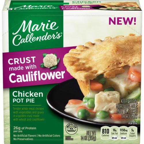 Marie Callendar's Chicken Pot Pie with Cauliflower Crust Frozen Meal Perspective: front