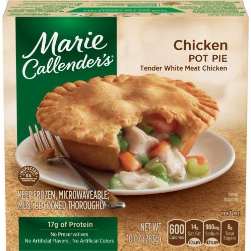 Marie Callender's Chicken Pot Pie Frozen Meal Perspective: front