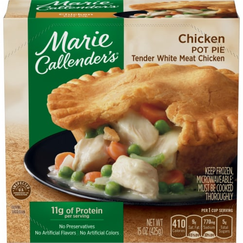 Marie Callender's Chicken Pot Pie Frozen Meal Perspective: front