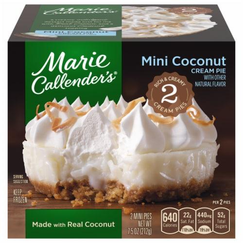 Marie Callender's Mini Coconut Cream Pies Perspective: front