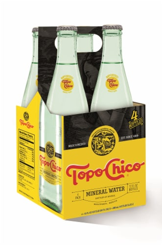 Topo Chico Mineral Water Perspective: front