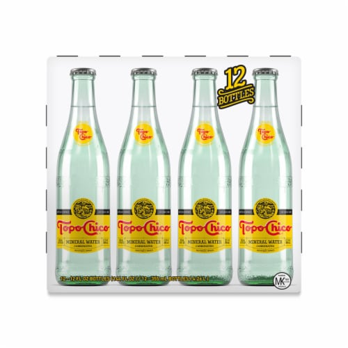 Topo Chico Carbonated Mineral Water Perspective: front