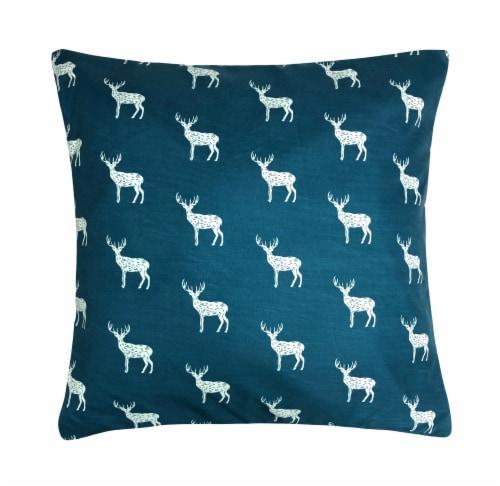 Harper Lane Contempo Deer Decorative Pillow Perspective: front