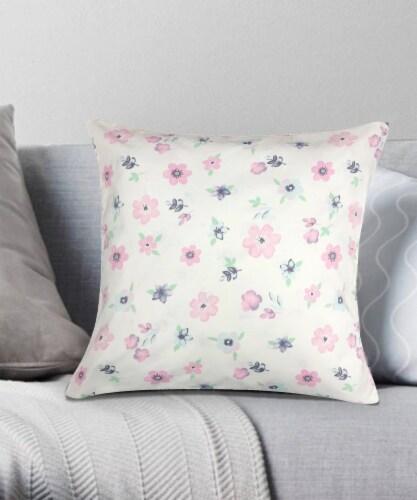 Harper Lane Fleur Decorative Pillow Perspective: front
