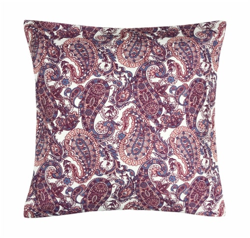 Harper Lane Abella Paisley Decorative Pillow Perspective: front
