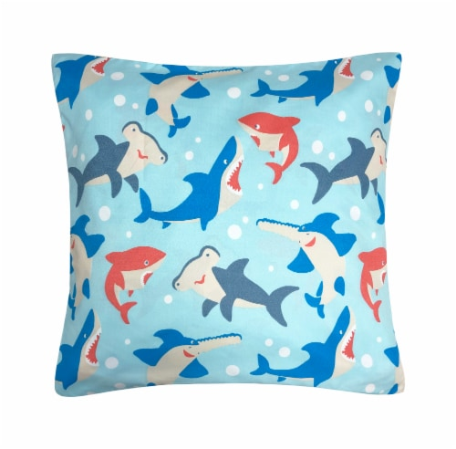 Harper Lane Shark Tales Decorative Pillow Perspective: front