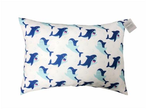 Harper Lane Microfiber Bed Pillow - Shark Perspective: front
