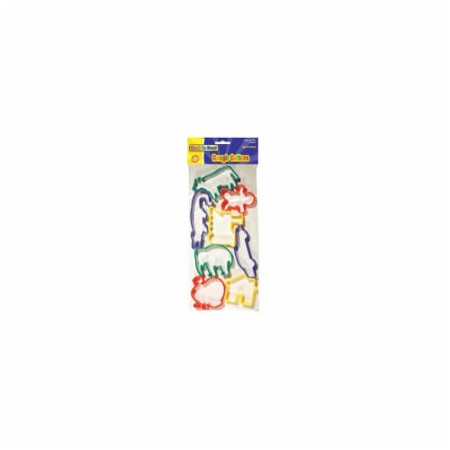 Chenille Kraft Company Cookie/Dough Cutters - Animals Perspective: front