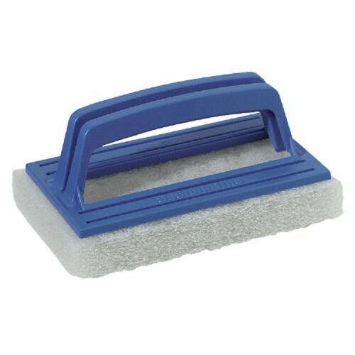 Scotch-Brite™ Bath Scrubber - Blue/White Perspective: front