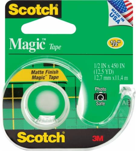 Scotch® Magic™ Matte Finish Tape Perspective: front