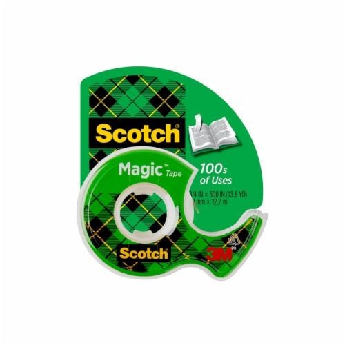 Scotch® Magic Matte Finish Tape - Clear Perspective: front