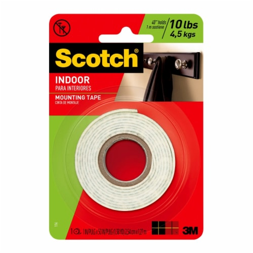 Scotch® Permanent Mounting Tape Perspective: front