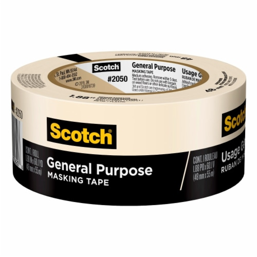Scotch® Greener Performance Painting Tape - Tan Perspective: front