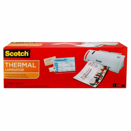 Scotch® Thermal Laminator - White Perspective: front