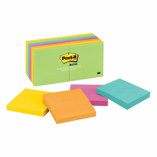 Post-it® Notes Jaipur Collection Perspective: front
