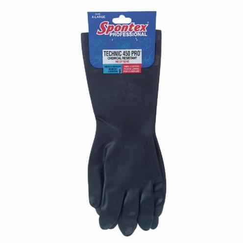 Spontex Technic 450 Pro XL Neoprene Rubber Glove 33556 Perspective: front