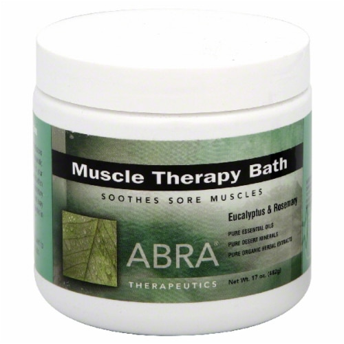 Abra Therapeutics Muscle Therapy Bath Perspective: front
