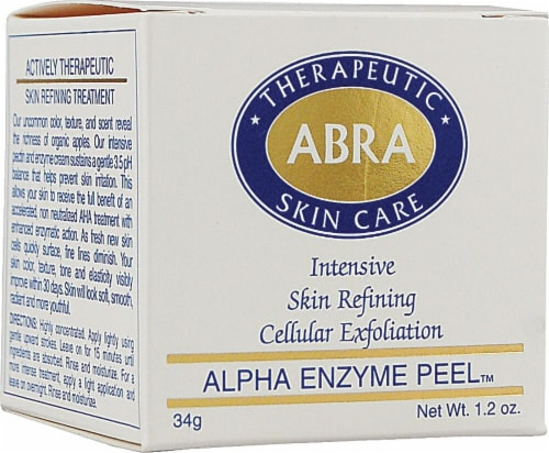 Abra Therapeutics Alpha Enzyme Peel Perspective: front