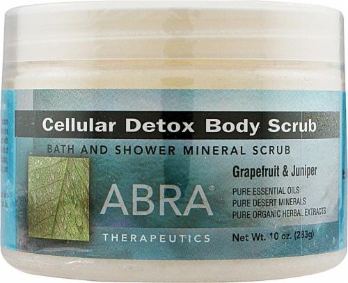 Abra Therapeutics Cellular Detox Body Scrub Perspective: front