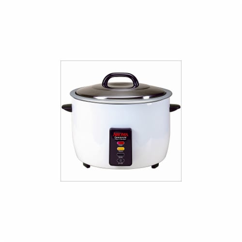 Aroma ARC-1033E Electronic 33 Cup Commercial Dry Rice Cooker Perspective: front