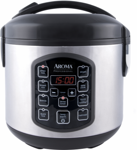Aroma® Professional Digital Rice and Multi-Cooker Perspective: front