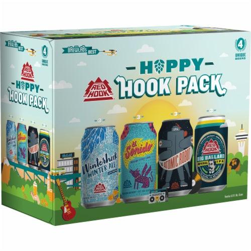 Redhook Hoppy Hook Pack Beer Variety Pack Perspective: front