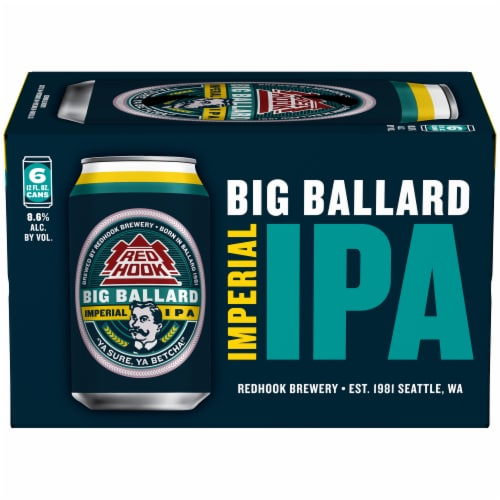 Red Hook Big Ballard Imperial IPA Perspective: front