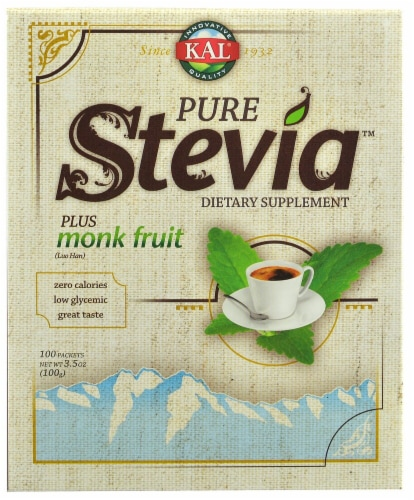 KAL Pure Stevia + Monk Fruit Perspective: front