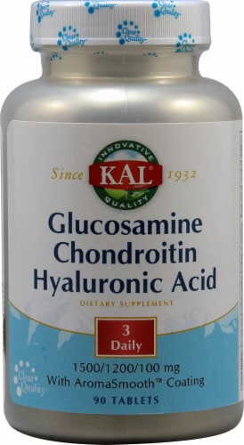 Kal  Glucosamine Chondroitin Hyaluronic Acid Perspective: front