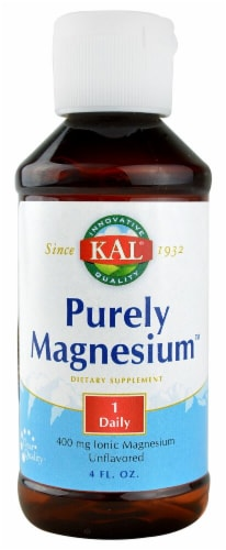 Kal  Purely Magnesium™   Unflavored Perspective: front