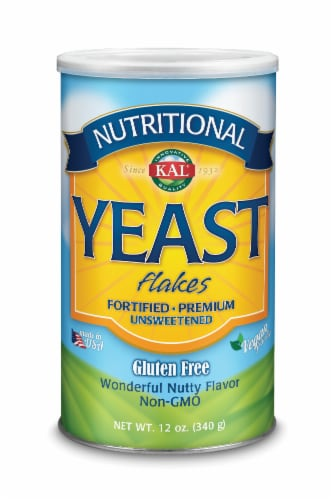 KAL Nutritional Yeast Flakes Perspective: front