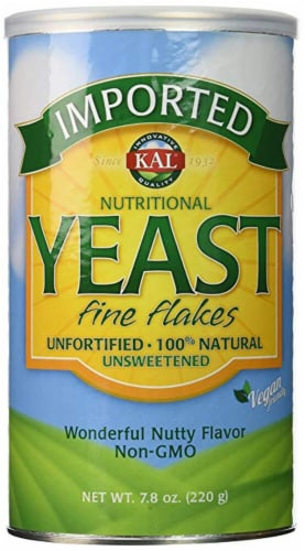 KAL Imported Nutritional Yeast Fine Flakes Perspective: front