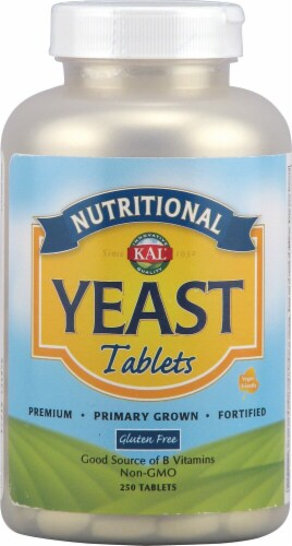 KAL Nutritional Yeast Tablets Perspective: front