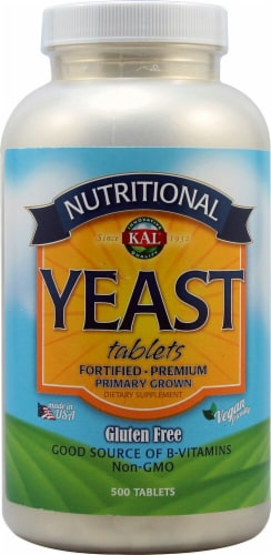 KAL Nutrional Yeast Tablets Perspective: front