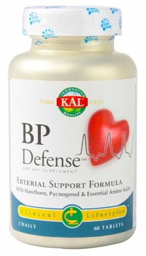 KAL BP Defense Arterial Support Formula Tablets Perspective: front