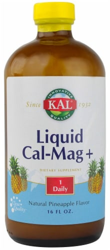 Kal  Liquid Cal-Mag Plus   Pineapple Perspective: front