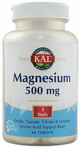 Kal  Magnesium Perspective: front