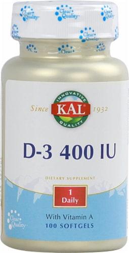 Kal  D-3 400 IU Perspective: front