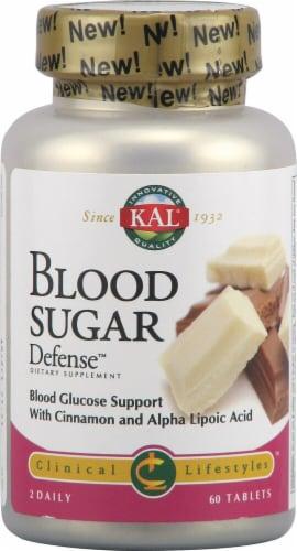 KAL Blood Sugar Defense Tablets Perspective: front