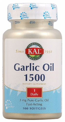 KAL  Garlic Oil 2000 Perspective: front