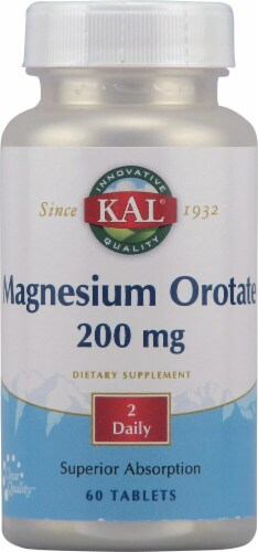 Kal  Magnesium Orotate Perspective: front