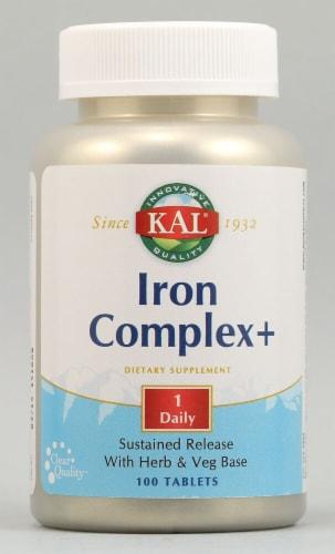 Kal  Iron Complex Plus™ Perspective: front