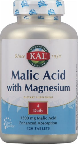 Kal  Malic Acid with Magnesium Perspective: front