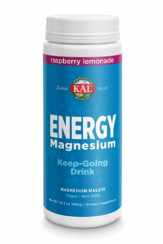 KAL Energy Magnesium Dietary Supplement Perspective: front