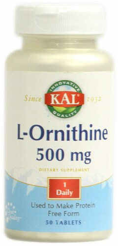 Kal  L-Ornithine Perspective: front