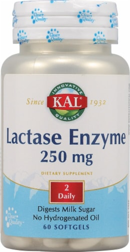 Kal  Lactase Enzyme Perspective: front