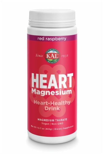 KAL Heart Magnesium Dietary Supplement Perspective: front