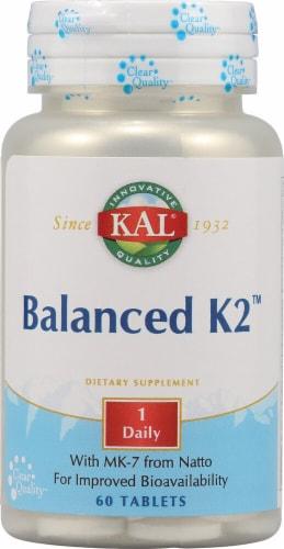 KAL  Balanced K2 Tablets Perspective: front