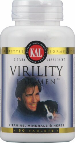 KAL  Virility For Men™ Perspective: front